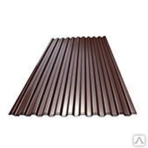 Профнастил С8 шокол. т.0,35 1,5м