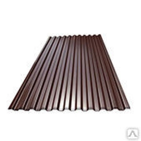 Профнастил С8 шокол. т.0,35 1,8м
