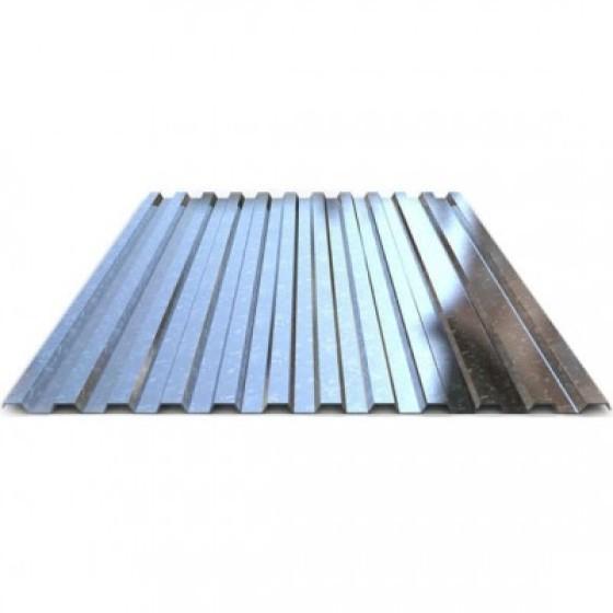 Профнастил С21 цинк т.0,35 3м