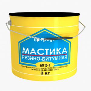 мастика  резино-битумная 21л