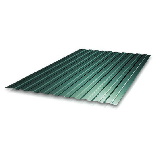 Профнастил С21 зелен. т.0,35 2м