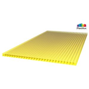 Сотовый поликарбонат SUNNEX желтый 8мм 12м