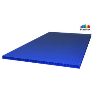 Сотовый поликарбонат SUNNEX синий  6мм 12м
