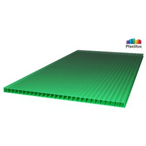 Сотовый поликарбонат SUNNEX зеленый 8мм 12м