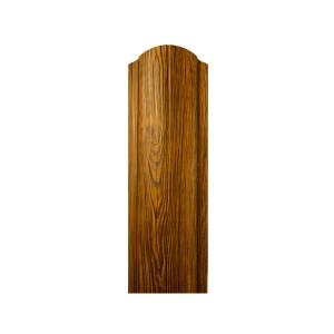 Штакетник фигурный ПРИНТ (дерево, камень) т.0,4 односторонний, м.пог