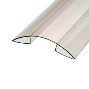 Профиль коньковый прозр. 4-6мм 6м