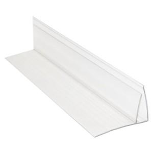 Профиль пристенный прозр. 4-6мм 6м