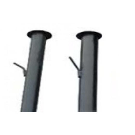 столб круглый d51 с крючком 2,4м  т.1,5 не Грунт