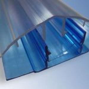 Соединение разъемное к цветному поликарбонату 4-10мм 6м