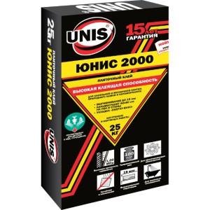 Плиточный клей ЮНИС 2000 25кг